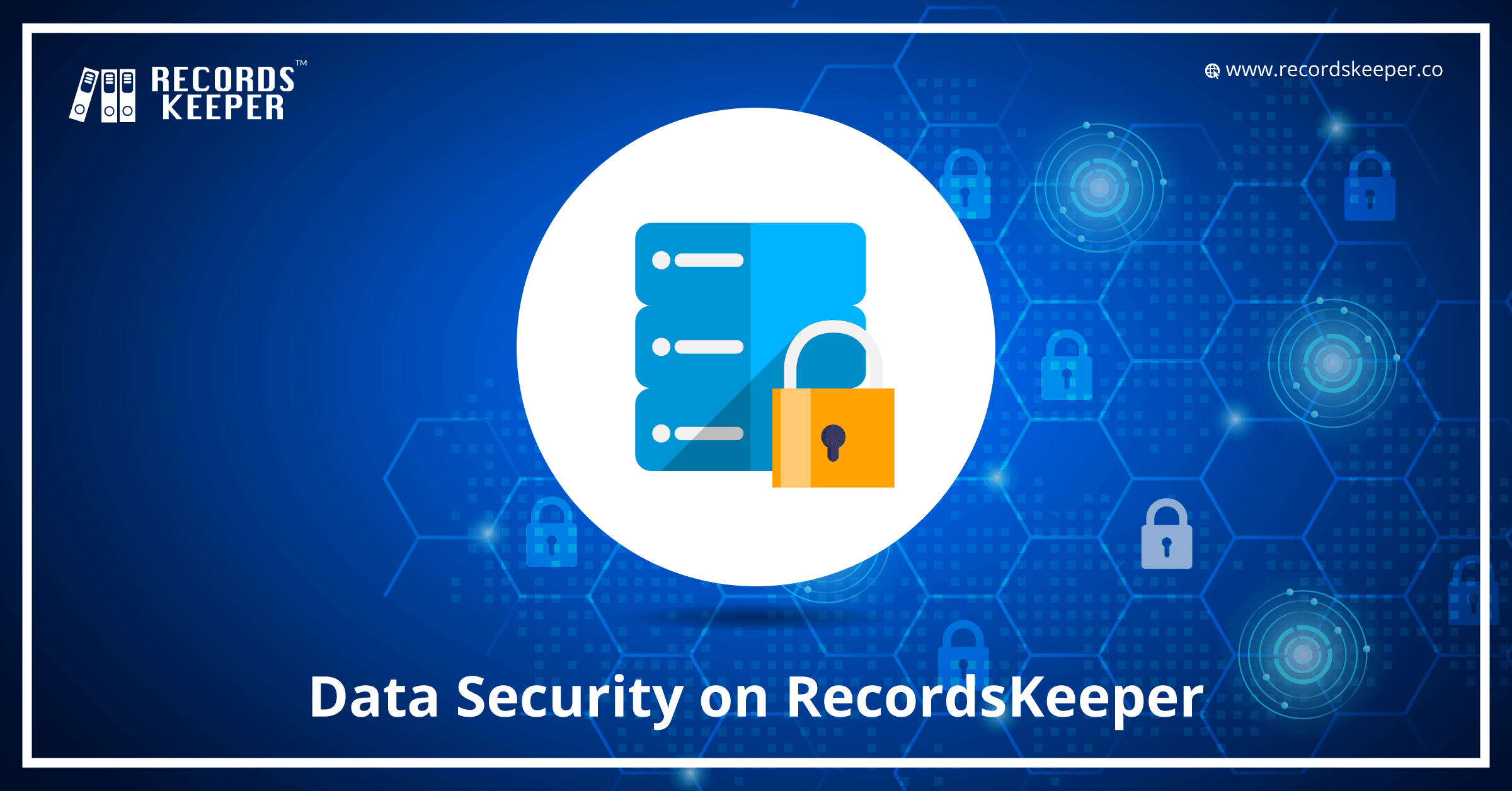 Data security on Recordskeeper