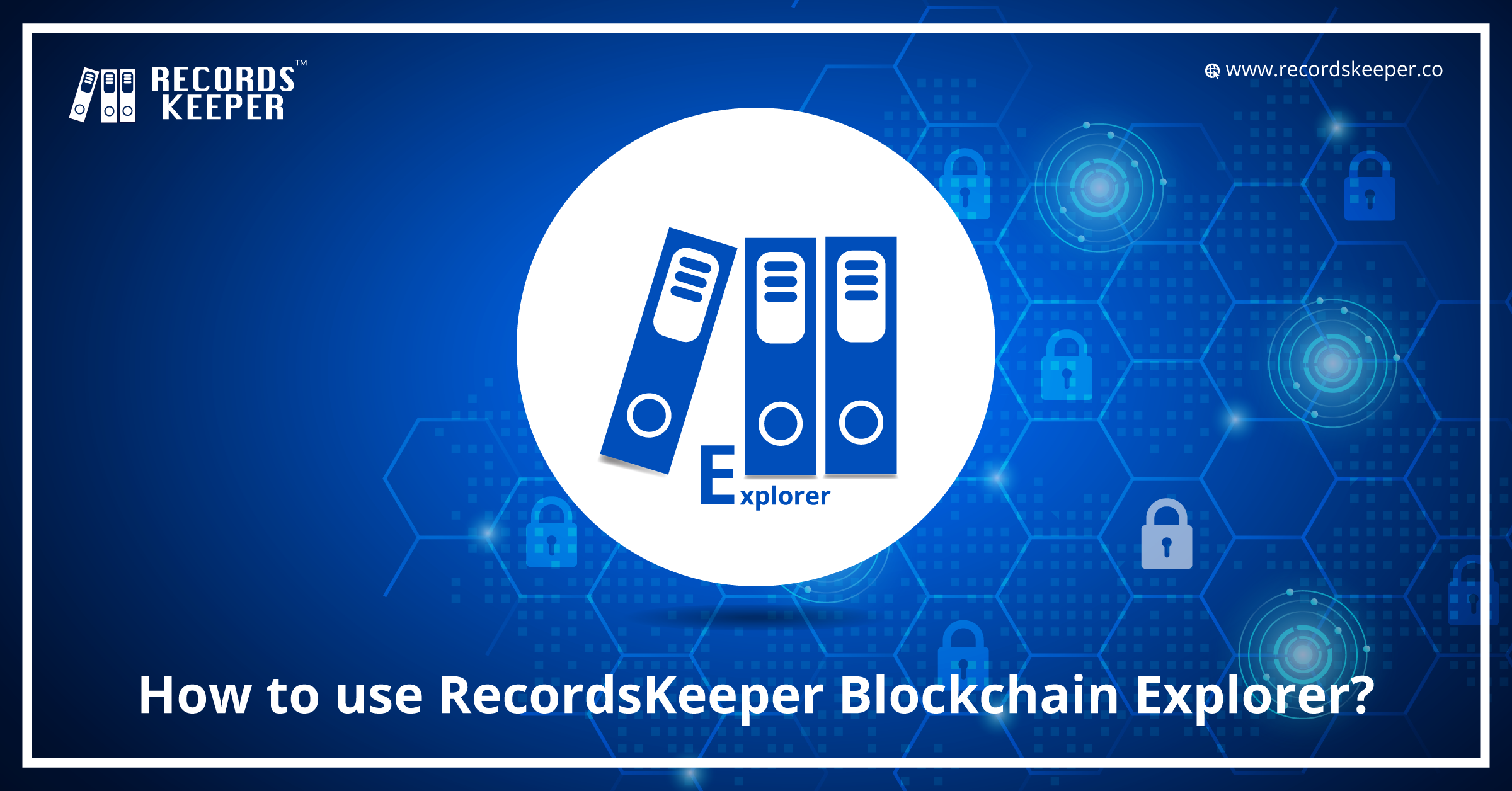 How to use RecordsKeeper Blockchain Explorer?